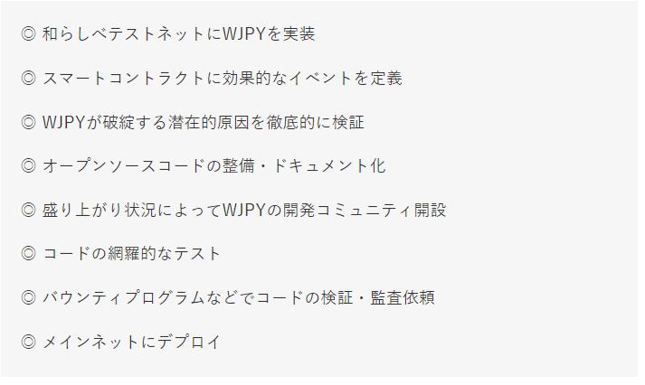 WJPYロードマップ