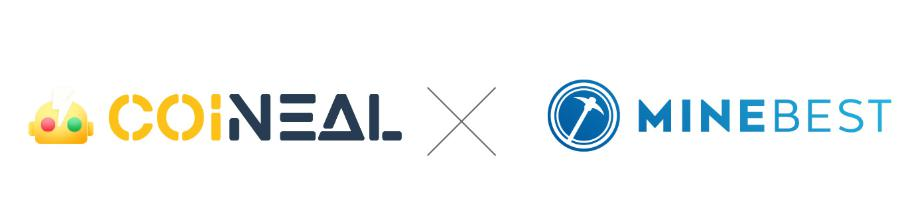 COINEALとMINEBEST社提携