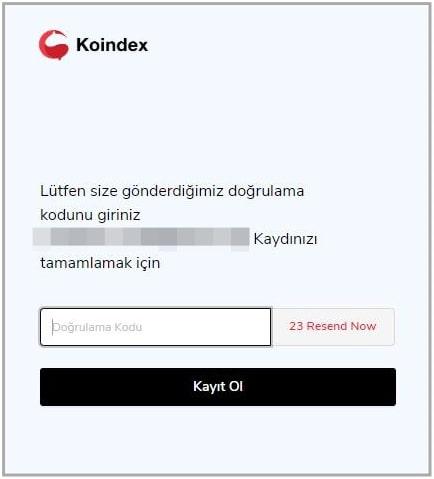 Koindex登録方法5