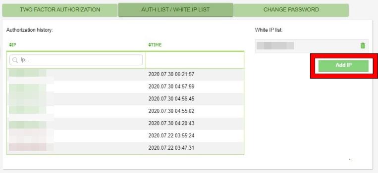 MERCATOXのホワイトリスト登録手順3