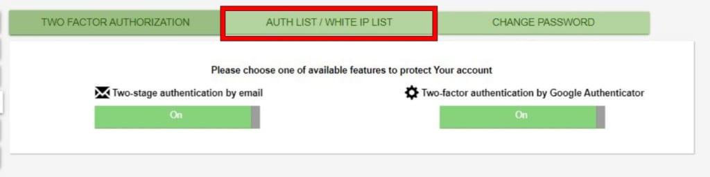 MERCATOXのホワイトリスト登録手順2